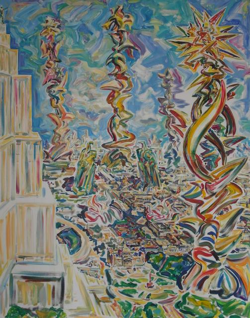 """, '""""Unter der Lilien"""",' 2015, Krokin Gallery"""