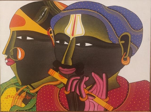 Thota Vaikuntam, 'The Couple', Art Pilgrim