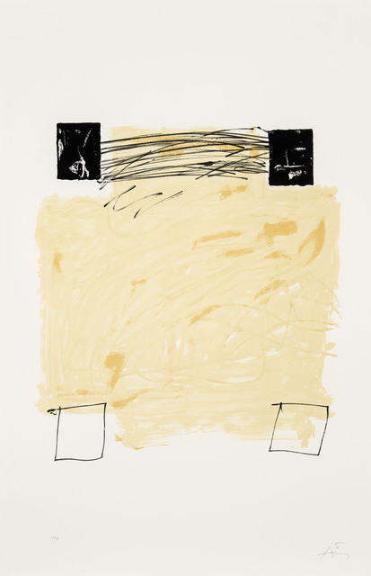 Antoni Tàpies, 'Quatre carrés', 1984, Galerie Lelong & Co.