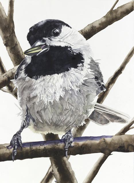 , 'Chickadee: Sunflower Seed,' 2018, Wally Workman Gallery