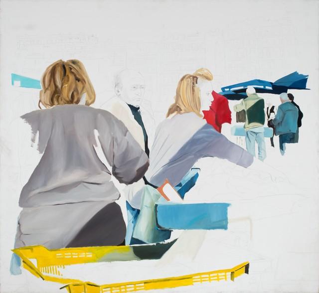 , 'La Marches,' 2010, Inda Gallery