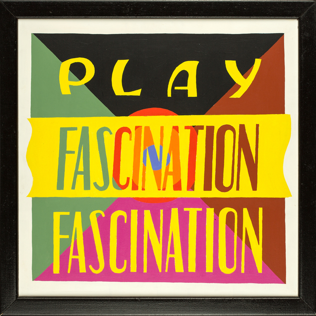 Philomena Marano, 'PLAY FASCINATION 2', 1990, Tabla Rasa Gallery