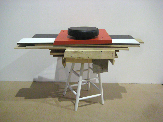 , 'Too High Stool,' 2009, Nina Johnson