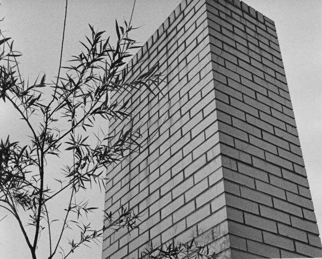 , 'Brick Chimney,' 1965, Bruce Silverstein Gallery