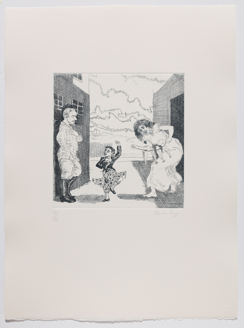 Paula Rego, 'Dance to your Daddy', 1989, Marlborough Graphics