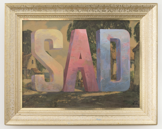 , 'SAD,' 2017, Joshua Liner Gallery