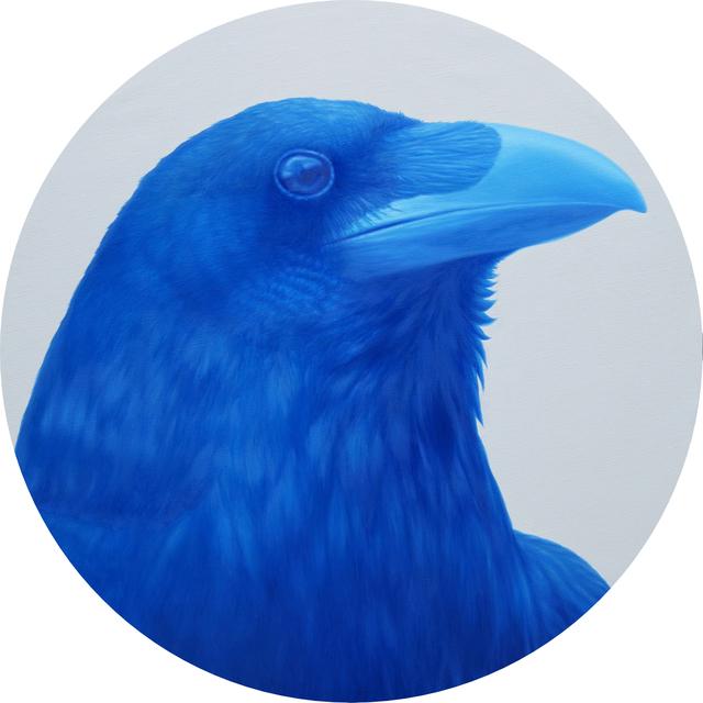 , 'Blue Crow,' 2016, Yavuz Gallery