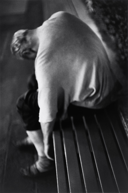 Louis Stettner, 'Nighttime, Man Sleeping', 2005, Photography, Gelatin silver print, printed 2005, GALLERY FIFTY ONE