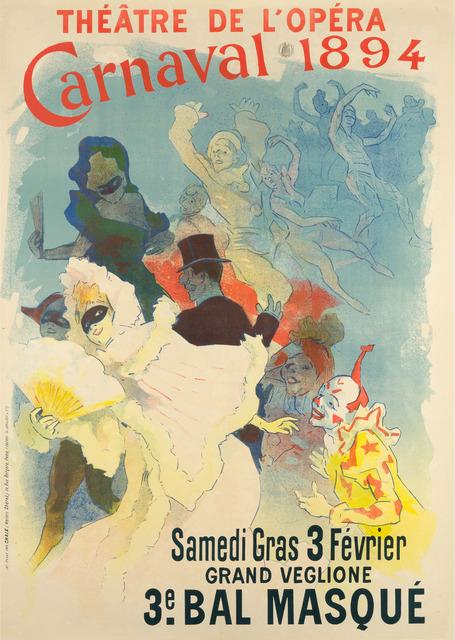, 'THÉÂTRE DE L'OPÉRA – CARNAVAL 1894,' 1894, Christopher-Clark Fine Art
