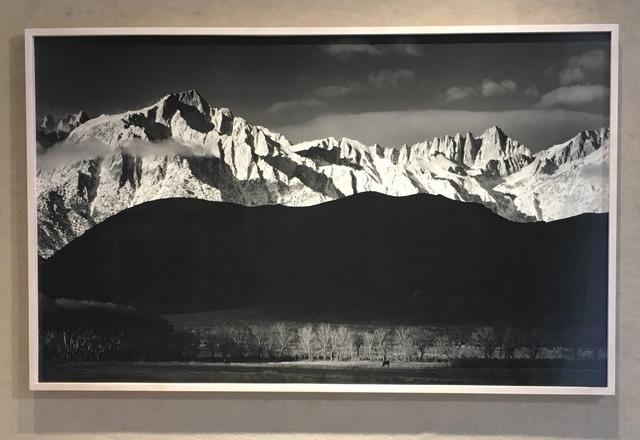 Ansel Adams, 'Winter Sunrise, Sierra Nevada From Lone Pine', 1944, Weston Gallery