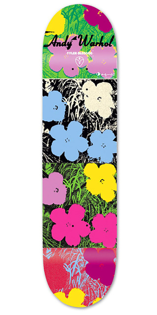 Andy Warhol, 'Andy Warhol Flowers Skateboard Deck', ca. 2010, Lot 180