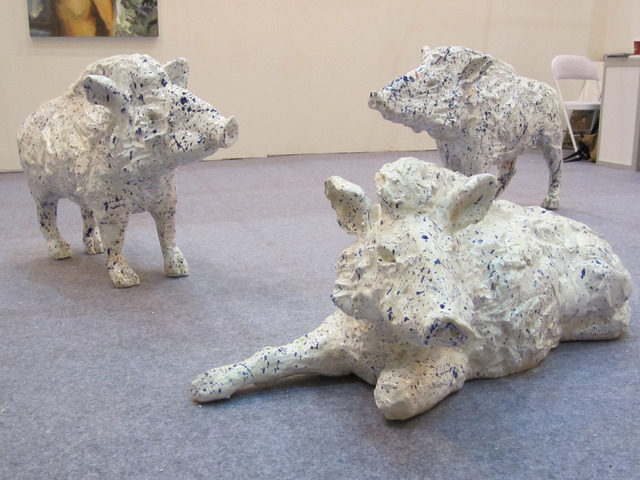, 'Boars,' 2013, Schuebbe Projects