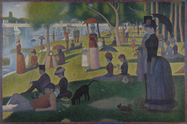 Georges Seurat, 'A Sunday on La Grande Jatte,' 1884-1886, Art Institute of Chicago