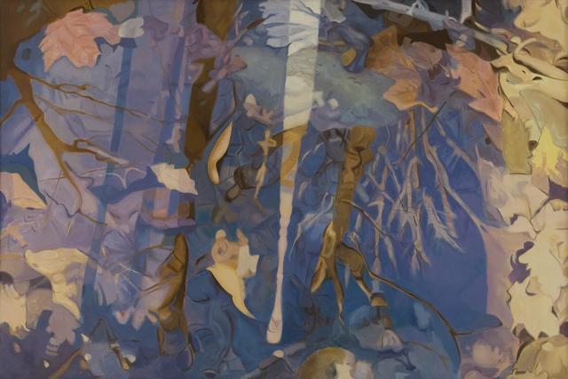, 'White Streak,' 1984, Walter Wickiser Gallery
