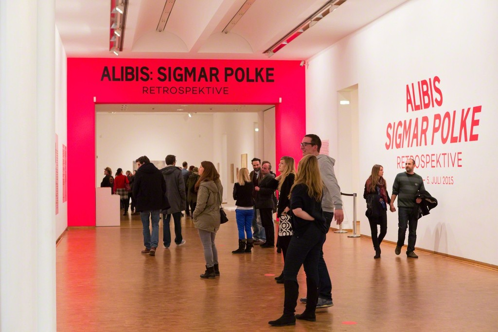 Installation view, Alibis: Sigmar Polke. Retrospective