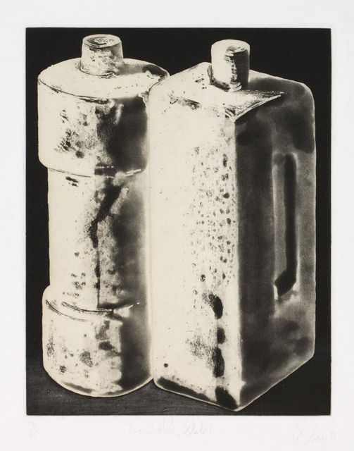 , 'Two Bottles, State 1,' 1988, Zane Bennett Contemporary Art