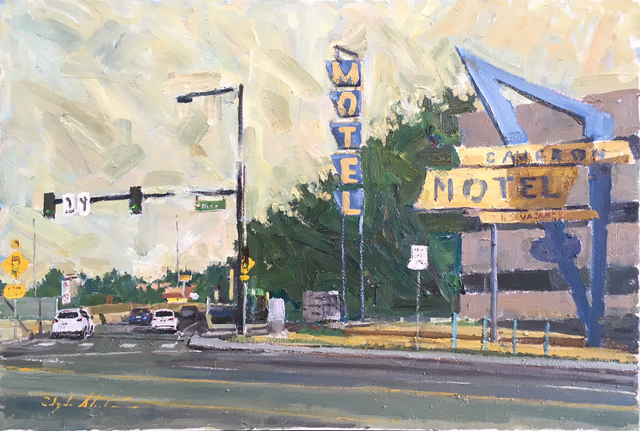 , 'Cameron Motel,' 2017, Abend Gallery