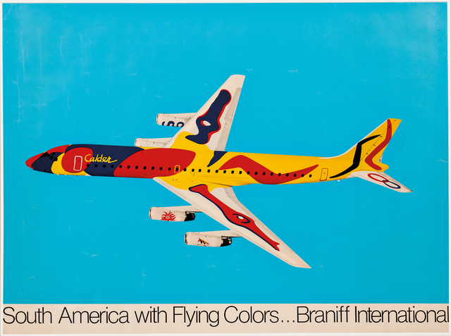 Alexander Calder, 'South America with Flying Colors...Braniff International', 1976, Skinner