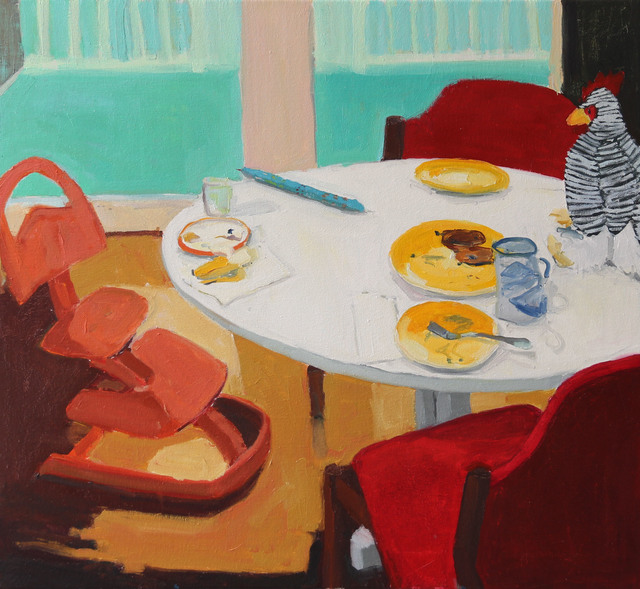 , 'After Breakfast,' 2018, Alpha Gallery