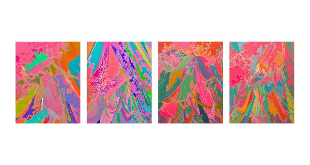 , 'Pollen No.9, 10, 11, 12,' 2018, ART LABOR Gallery