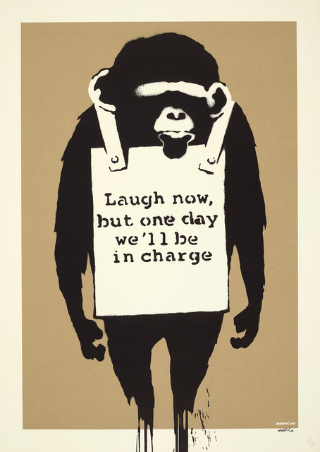 Banksy, 'Laugh Now', 2005, Phillips
