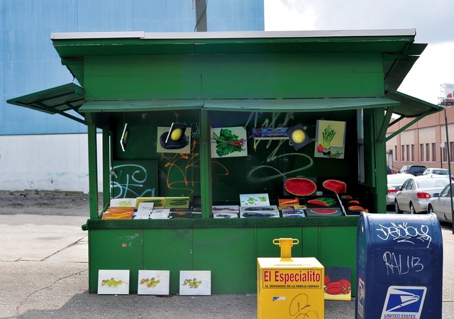 , 'Fruit and Vegetable Stand,' 2012, West Den Haag