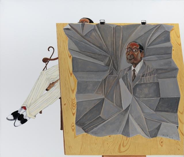 , 'Portrait,' 2018, Barnard