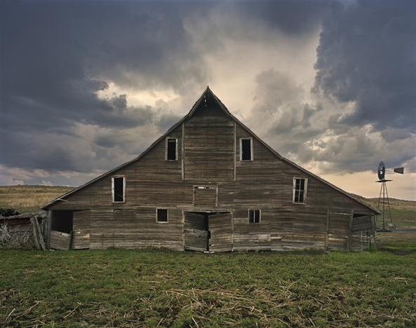 , 'Cash Maier Barn, Shadbolt Ranch, Cherry County, Wyoming,' 2011, Jackson Fine Art