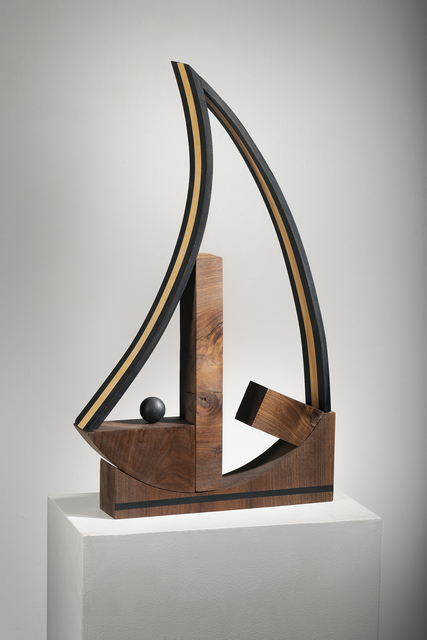 Betty McGeehan, 'Minimal Wood Abstract Sculpture: 'Life'', 2018, Ivy Brown Gallery
