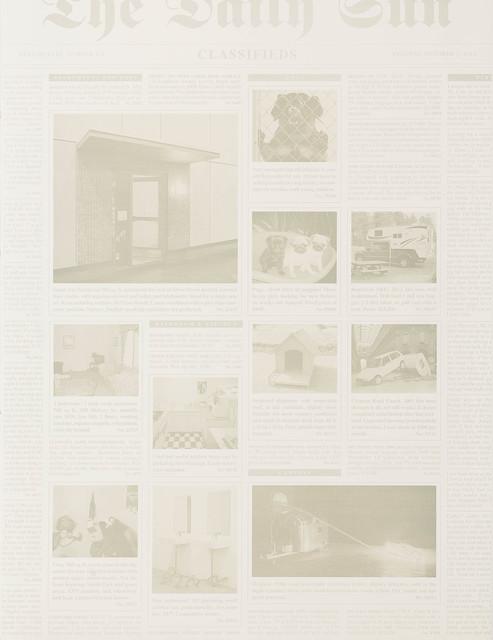 , 'Classifieds ,' 2014, Edition Copenhagen
