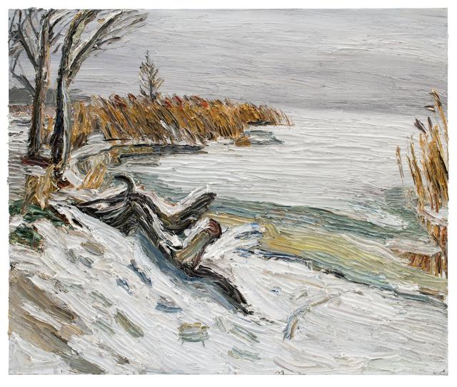 , 'Wintertag Am Lieper Winkel (Usedom),' 2018, GALERIE URS REICHLIN