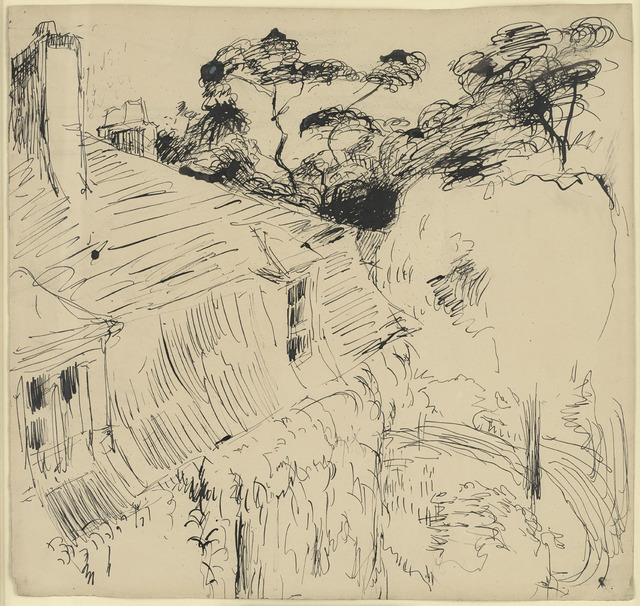 , 'Une maison à Chatou,' ca. 1900, Stoppenbach & Delestre