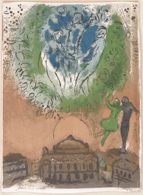 Marc Chagall, 'L'OPERA', 1954, Print, LITHOGRAPH, Gallery Art