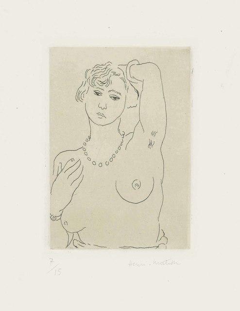Henri Matisse, 'Buste de femme avec collier et bracelet', 1926, Christie's