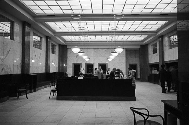 , 'Anglo-Österreichische Bank (später Zentralsparkasse, Bank Austria), Wien, AT, Architekt Adolf Loos,' 1981, Christine König Galerie