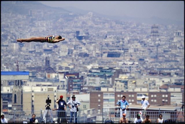 , 'Women's Platform Diving. Barcelona, Spain.,' 1992, Anastasia Photo