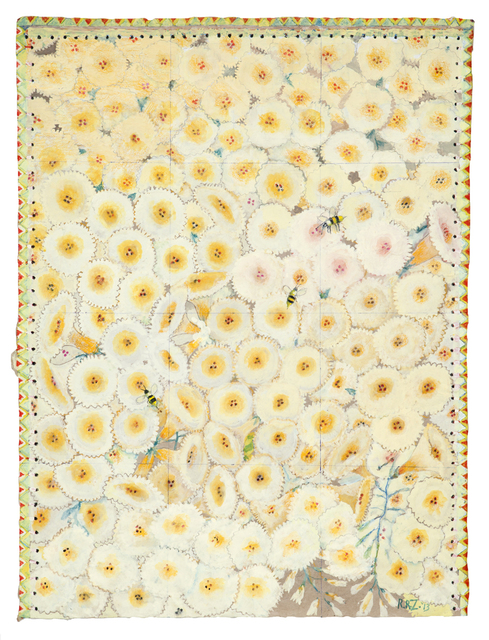 , 'Hanging Gardens Series (Apricot Blooms),' 2013, Nancy Hoffman Gallery