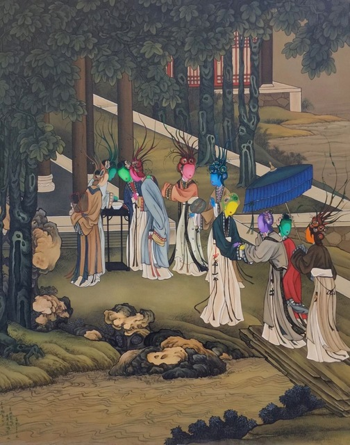 , 'Ancient Organisms Series- Painting of Court Ladies IIII,' , Yang Gallery