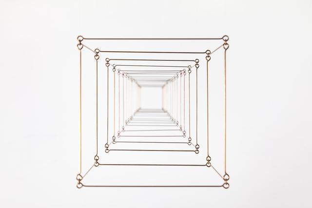Elias Crespin, 'Solitón cúbico brass', 2016, Baró Galeria