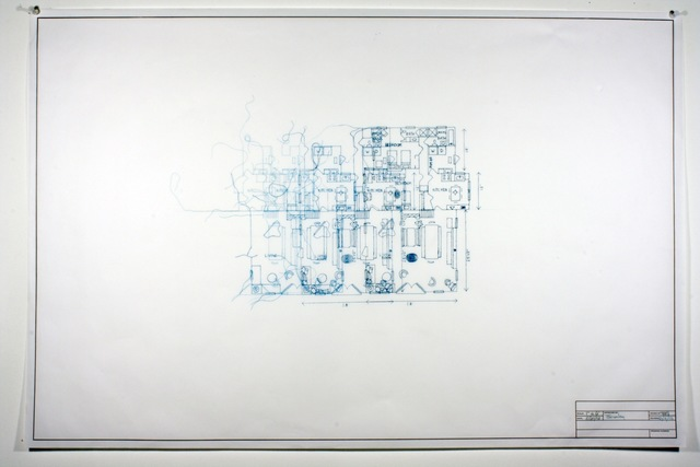 , 'Architectural Plan IIB,' 2012, Adah Rose Gallery