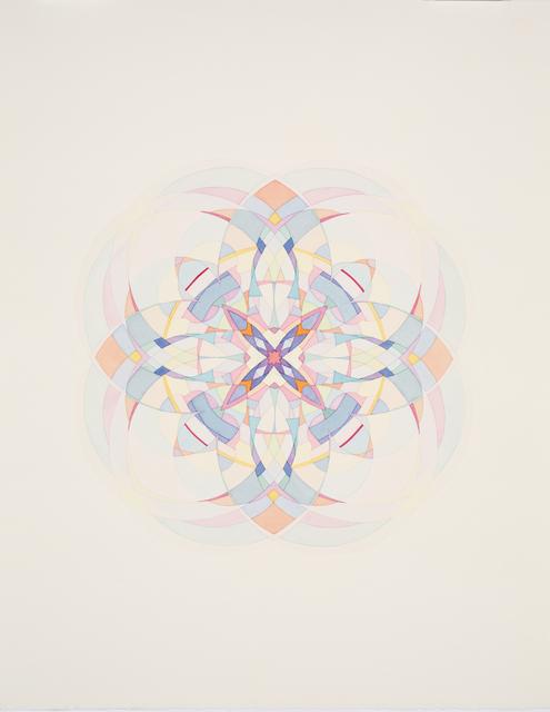 , 'Kaleidoscopic Spirograph Still #20,' 2013, ELLEPHANT