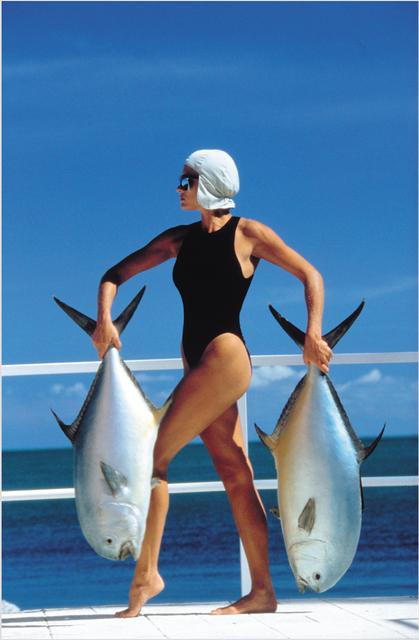 , 'Triffie, V de V swimsuit, Isla Meralda,' 1985, Galerie Dumonteil