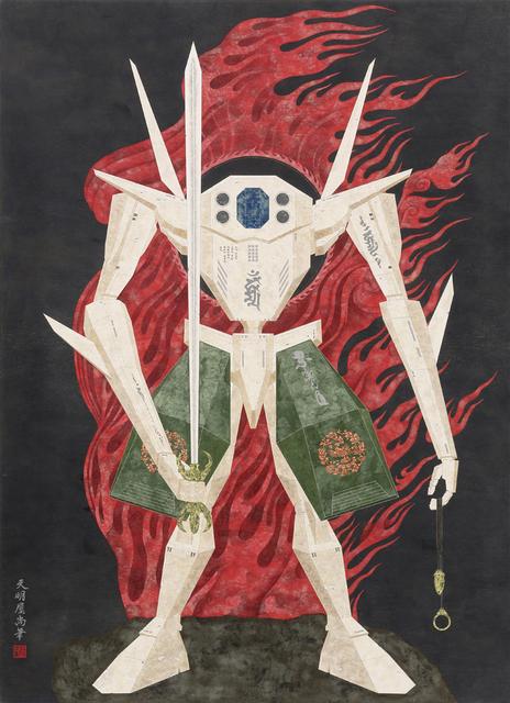 , 'Robot Fudou Myouou,' 2015, Mizuma & Kips