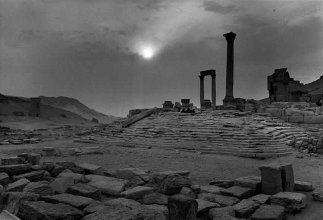 Don McCullin, 'The temple of flags, Palmyra, Syria', 2006-2009, Howard Greenberg Gallery