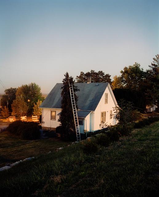 , 'Ladder and House, Omaha, NE,' 2005-2018, Huxley-Parlour
