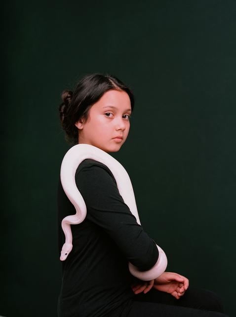 , 'Rosa (Python Regius) ,' 2016, Catherine Edelman Gallery