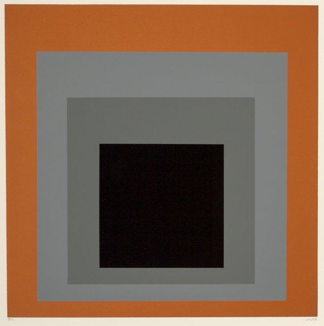 Josef Albers, 'Untitled, from the Homage au Carré portfolio', 1965, Heritage Auctions