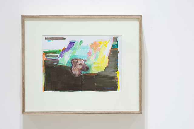, 'Peyton's Dog Is Hiding in the Fields,' 2017, The Rooster Gallery