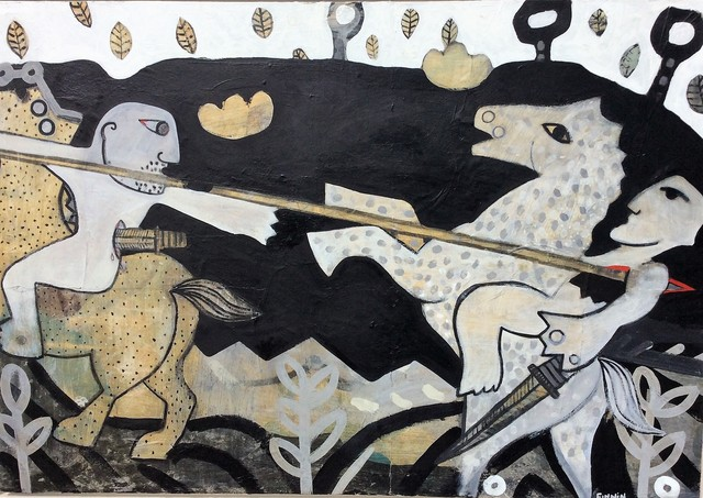 , 'Cu Chulainn in the Battle of the Tain Bo,' , Solo Arte