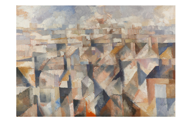 Bernard Myers, 'Windsor from the studio window', Chiswick Auctions